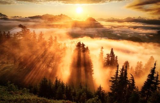 coucher-soleil-montagne-lookout-etats-unis